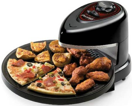 (USA Warehouse) Presto Pizzazz Plus Rotating Oven Pizza Cooker Baking Cookies Kitchen Food